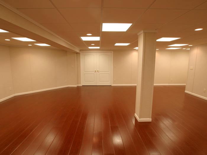 basement finishing cost. A newly finished basement in Glenview Remodeled Basement Product Warranties by Total Finishing